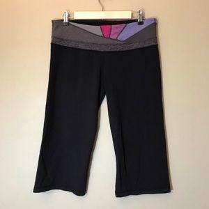 Lululemon Black Capri Yoga Pants